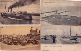 Oostende, 24 zeer oude postkaarten. 24 scans, Kosten verzenden : 3 EUR