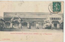 59 ROUBAIX EXPOSITION 1911 VILLAGE FLAMAND - Roubaix