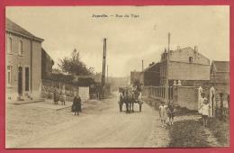 Juprelle - Rue Du Tige ( 1 ) - Attelage ( Voir Verso ) - Juprelle