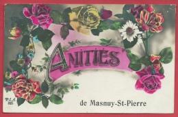 Masnuy-St-Pierre - Amitiés De ... - Jolie Fantaisie - 1932 ( Voir Verso ) - Jurbise