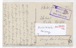 Bayern-Karte Posthilfsstelle-  H�rwang  -Feldpost  (bc5270 ) siehe scan  !