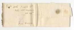 PREFILATELICA PREPHILATIC POSTAL HISTORY ITALY ANNO 1589 FIRENZE TOSCANA TO ?.  VERY GOOD CONDITION. - 1. ...-1850 Prefilatelia