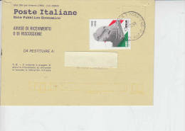 ITALIA  1998 -  Ricevuta Di Ritorno - Sassone  2326 -  Costituzione - 6. 1946-.. Repubblica