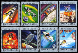 Rwanda 0384/91**  Apollo 13 MNH