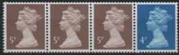1994 Gran Bretagna, Strisce Distrbutor Automatici COILS  , Serie Completa Nuova (**) - Post & Go Stamps