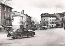 CPSM  CHAUFFAILLES Place De L'Eglise     Voiture - France
