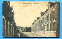 FR290, Lorris, Place Victor-Hugo, Circulée 1910 Sous Enveloppe - Other Municipalities