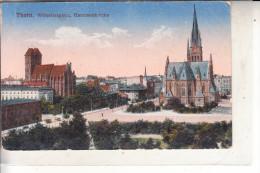 WESTPREUSSEN - THORN / TORUN, Wilhelmsplatz & Garnisonskirche, 19156, Feldpost
