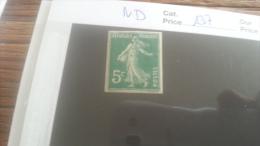 LOT 250761 TIMBRE DE FRANCE NEUF** N�137 NON DENTELE