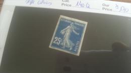 LOT 250763 TIMBRE DE FRANCE NEUF* N�140Q NON DENTELE VALEUR 170 EUROS SIGNE CALVES