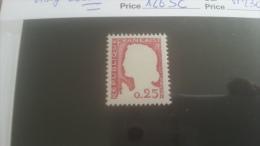 LOT 250776 TIMBRE DE FRANCE NEUF** VARIETE N�1263C VISAGE ABSENT VALEUR 230 EUROS LUXE