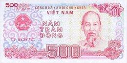 Vietnam 500 Dong 1988 Pick 101 UNC - Vietnam
