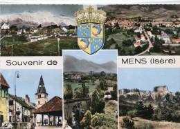 CPSM 38 SOUVENIR DE MENS   Grand Format 15 X 10,5 - Mens