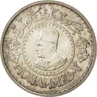 [#43593] Maroc, Mohamed V, 500 Francs, AH1376/1956, KM 54 - Marruecos