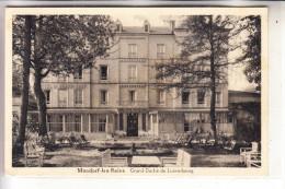 L 5600 BAD MONDORF, Hotel Du Grand Chef, 1935 - Bad Mondorf