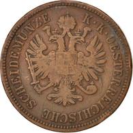 Autriche, 4 Kreuzer 1861 B, KM 2194 - Autriche
