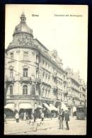 Graz Thonethof Mit Herrengasse / Postcard Circulated - Graz
