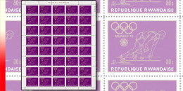 Rwanda 0423**  30c Jeux Olympiques de Munich - Feuille / Sheet de 40 MNH