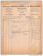 59 2021 LILLE NORD 1948 Importation Eponges ANTOINE KEPHALIANOS é N. BULAFENDI Rue Meurin - CALYMANOS DJERBA SFAX - France