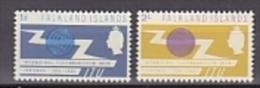 Falkland Islands 1965 ITU 2v ** Mnh (20438A) - Falklandeilanden