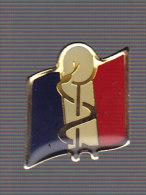 SSA. Service de Sant� des Arm�es. Insigne g�n�ral. SM.pin's.
