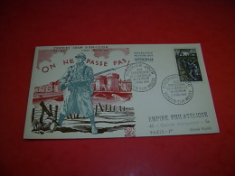 Premier Jour D Emission 40 Anniversaire  Bataille De Verdun 1956 - Used Stamps