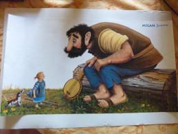 Affiche Milan Jeunesse Géant Ogre - Affiches