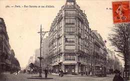 Paris  Rue Sarette Et Rue D'Alesia - District 14