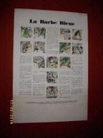 Trés Trés Rare LA BARBE BLEUE Sur Affiche - Prints & Engravings