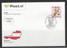 ÖSTERREICH - FDC Mi-Nr. 2759 - Blumen Gewöhnliche Akelei (Aquilegia Vulgaris) - FDC