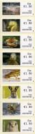 IRELAND (2012) - SOAR - ATM - Irish Animals And Marine Life (III) - Mint Set Of 8 Designs X 1.50 EUR - 1st Day (12222) - Vignettes D'affranchissement (Frama)