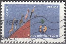 France 2011 Yvert A534 O Cote (2012) 0.60 Euro Fête Du Timbre Homme Arrosant Un Arbre - France
