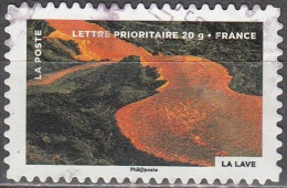 France 2012 Lava Cachet Rond O - France