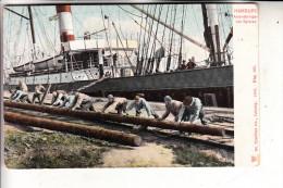 2000 HAMBURG, Hafen, Anlandbringen Von Spieren,1905, Trenkler - Mitte