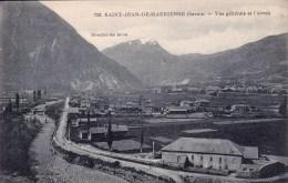 CPA : 73 . SAINT JEAN DE MAURIENNE. VUE GENERALE ET L'ARVAN - Saint Jean De Maurienne