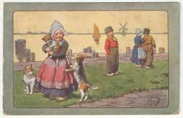 Karl FEIERTAG - Enfants Hollandais - BKWI 188-5 - Feiertag, Karl