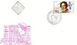 BULGARIA  / Bulgarie -1992 Composer - D.Rossini 1v.- FDC - FDC