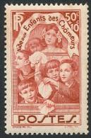 FRANCE 1936 - Yv. 312 **   Cote= 8,00 EUR - Aux Enfants Des Chômeurs ..Réf.FRA26788 - Francia