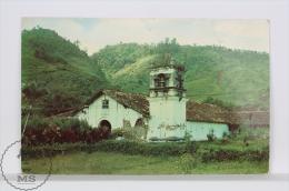 Vintage 1950´s Costa Rica Postcard - Iglesia De Orosi / Orosi Church - Costa Rica