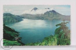 Vintage 1950´s  Guatemala Postcard - Lake Atitlan - Posted - Guatemala