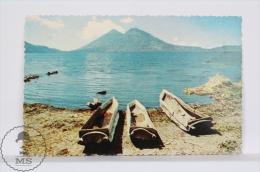 Vintage 1950´s  Guatemala Postcard - Lake Atitlán - Guatemala