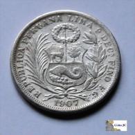 Perú - 1/2 Sol - 1907 - Pérou