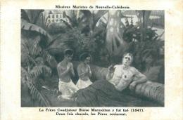 MISSIONS MARISTES DE NOUVELLE CALEDONIE LE FRERE COADJUTEUR BLAISE MARMOITON Y FUT TUE - New Caledonia