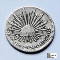 México - 2 Reales - Zacatecas - 1829 - Mexiko