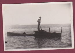 PHOTO - BATEAU - 240315 GUERRE - SOUS MARIN - Sous Marin De Poche Allemand - - Submarinos
