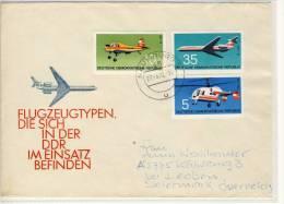 FLUGZEUG Typen In Der DDR -  Gel. 1972 Nach Leoben - Avions