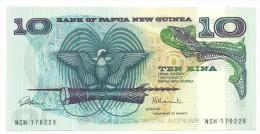 Papua New Guinea 10 Kina 1985 UNC - Papua Nuova Guinea