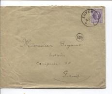 TP 198 Albert 1 Houyoux S/L.c.Eupen En 1924 V.Gand PR1943 - Belgium