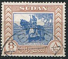 (cl.18 - P31)  Soudan Ob. N° 109 (ref. Michel Au Dos) - Chef Darfur (cavalier) - - Soudan (1954-...)