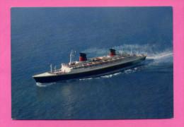 """Carte PUB DOLCYMENE S/s """"FRANCE"""" Cie Gie TRANSATLANTIQUE 66.348T. - Oblitération Port Payé De MONTREUIL - Piroscafi"""